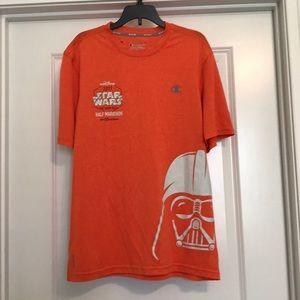 Star Wars Darth Vader running t-shirt Sz M